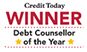 Winner - Debt Counsellor of the Year
